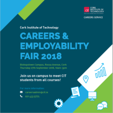 CIT Careers and Employability Fair 2018 Logo